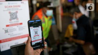 Kemenkes Sebut Penerapan PeduliLindungi di Pasar untuk Pastikan Keamanan Pengunjung