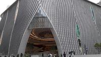 Megahnya Xiqu Center di Kowloon, Hong Kong (Liputan6.com/Komarudin)
