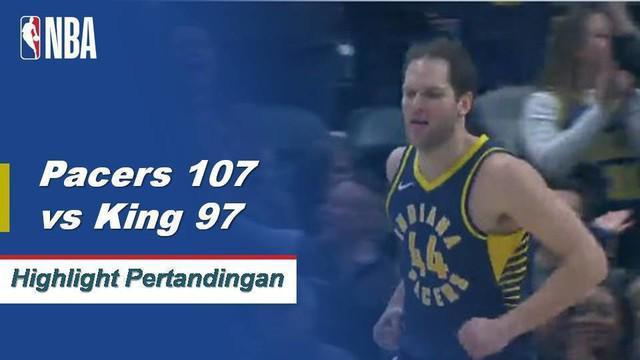 Thaddeus Young mencetak 20 poin dan meraih sembilan rebound untuk memimpin Pacers di atas Kings, 107-97.