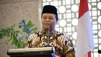 Wakil Ketua MPR Hidayat Nur Wahid (HNW) Saat Membuka Sosialisasi Empat Pilar MPR RI di Makassar, Sulawesi Selatan, Minggu (15/9/2019). (Foto: Humas MPR RI)