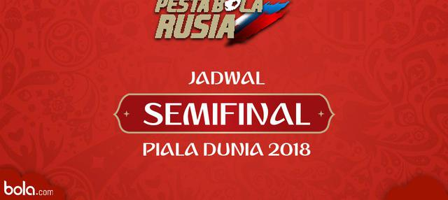 Berita video jadwal Semifinal Piala Dunia Rusia 2018. Duel antar negara Eropa.