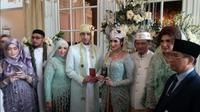 Mantan istri Tommy Kurniawan, Tania Nadira Resmi Menikah (Foto: Sapto Purnomo)