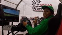 Andika Rama Maulana berhasil merebut juara ke-2 dan mewakili Indonesia di ajang Nissan GT Academy grup Asia