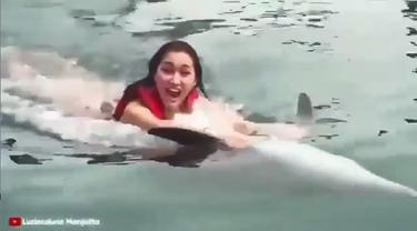 Dituding Lakukan Kejahatan Terhadap Hewan, Video Lucinta Luna Viral