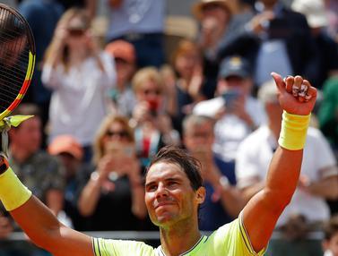 Kalahkan Petenis Jerman, Rafael Nadal Lolos ke Babak Ketiga Prancis Terbuka