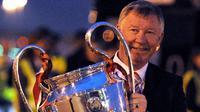 2. Alex Ferguson - 2 gelar Liga Champions, Manchester United (1999 dan 2008). (AFP/Andrew Yates)