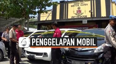 Satuan Unit Reskrim Polsek Kayen, Pati, Jawa Tengah, berhasil mengungkap kasus penggelapan mobil rental.