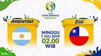 Copa America 2019 - Argentina Vs Cile (Bola.com/Adreanus Titus)