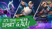 Mobile Legends : Bang Bang melakukan sport gala untuk meramaikan SEA Games 2019.  (FOTO / Moonton)