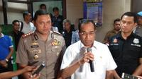 Menteri Perhubungan Budi Karya Sumadi meminta aplikator perketat seleksi mitra pengemudi (Nur Habibie/Merdeka.com)