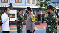 Presiden Jokowi melakukan kunjungan kerja ke Provinsi Kalimantan Tengah (Kalteng), Kamis (9/7/2020). (Istimewa)