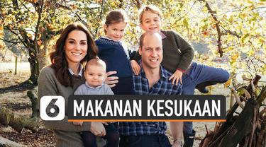 Pangeran WIlliam dan Kate Middleton telah memiliki 3 anak. Middleton menyebut makanan kesukaan Putri Charlotte.