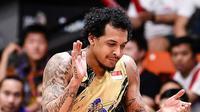 Performa apik Freddie Lish tetap tak mampu menghindarkan CLS Knights dari kekalahan saat bersua Chong Son Kung Fu pada lanjutan ABL 2017-2018, Kamis (8/2/2018). (ASEAN Basketball League)