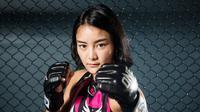 Bela diri sudah membentuk kepribadian Rika Ishige (dok:ONE Championship)