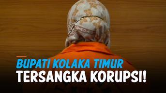 VIDEO: Baru Tiga Bulan Dilantik, Bupati Kolaka Timur Jadi Tersangka Korupsi