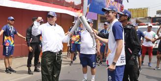 Brandon Salim Arak Obor Asian Games 2018