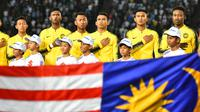 Timnas Malaysia siap mengukir kemenangan atas Laos pada laga kedua Grup A Piala AFF 2018. (AFF Suzuki Cup)
