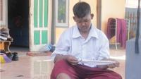 Arya, bocah obesitas asal Karawang, sukses menurunkan berat badannya hingga 80 kilogram (Liputan6.com/Abramena)