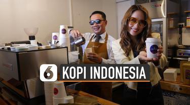 Gubernur Jawa Barat Ridwan Kamil meresmikan Jabarano Cafe di Australia, Senin (24/2/2020) petang waktu setempat. Kafe ini terletak di 555 Flinders Lane, Kota Melbourne, negara bagian Victoria, dan merupakan yang pertama menjual kopi Jabar.