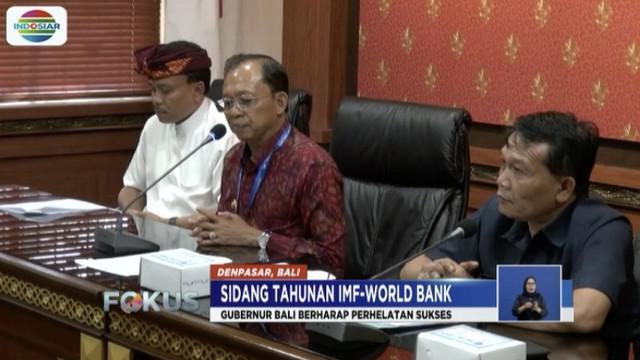 Gubernur Bali I Wayan Koster menjamin pertemuan tahunan IMF-World Bank Group memberikan dampak positif bagi Indonesia khususnya Bali.