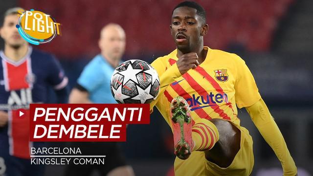 Berita video kali ini membahas tentang empat pemain yang bisa menggantikan Ousmane Dembele di Barcelona.