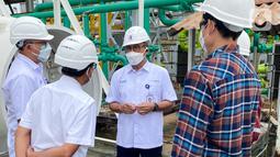 Berdasarkan perhitungan Kemenperin, kebutuhan tabung gas oksigen di beberapa provinsi di Jawa serta Bali diperkirakan mencapai 20.000 tabung dengan kapasitas nasional produksi oksigen sebesar 1.700 ton per hari. (Liputan6.com/HO/PKT)