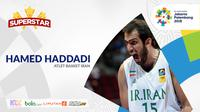 Superstar Asian Games, Hamed Haddadi (Bola.com/Adreanus Titus)