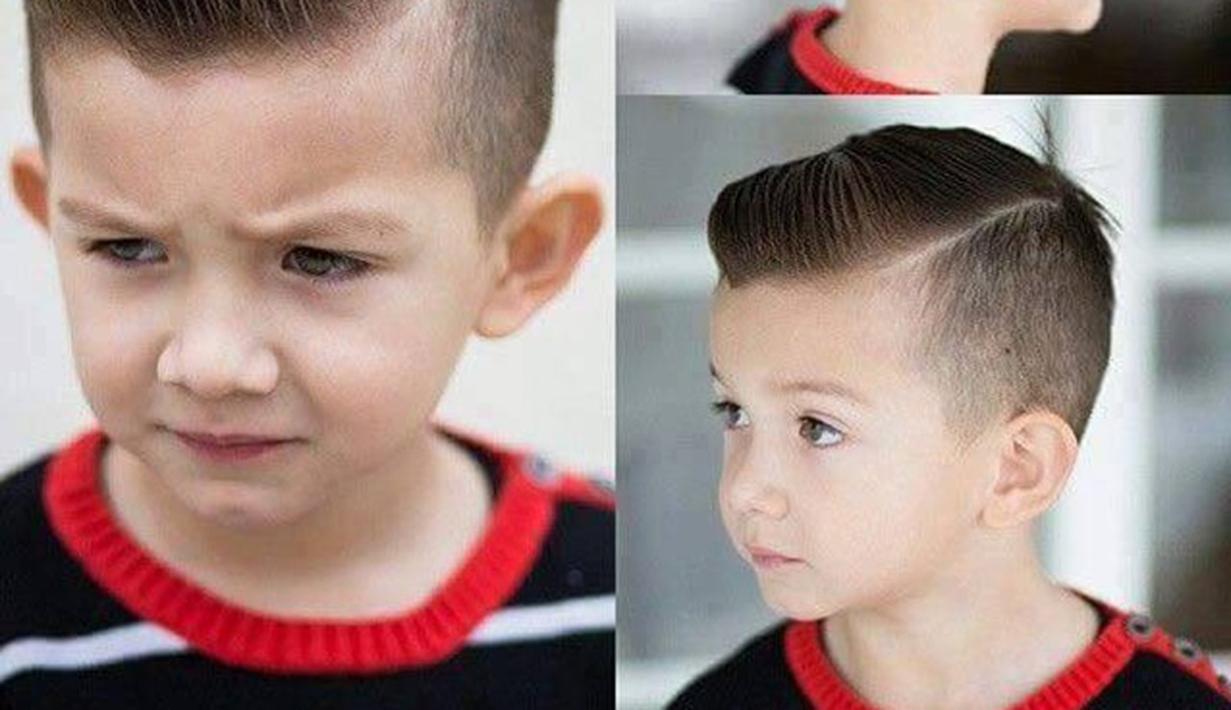 Gaya Rambut Anak Cowok Bakal Bikin Ia Makin Cute ...