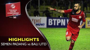 Video highlights TSC 2016 antara Semen Padang vs Bali United yang berakhir dengan skor 3-0 di Stadion Haji Agus Salim.