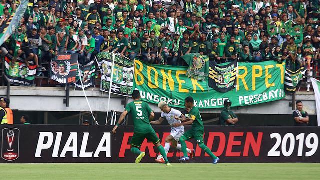 Tiket Duel Persebaya Vs Madura United Sold Out Bajul Ijo Bersiap