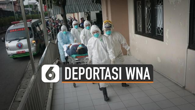 Otoritas Rusia berencana mendeportasi WNA yang didiagnosis terinfeksi virus corona asal  Wuhan, China.