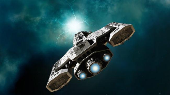 Ilustrasi pesawat angkasa antar bintang. (Sumber iStock)