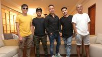 Band Repvblik saat pembuatan video klip terbaru (Budi Santoso/Kapanlagi.com)