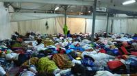 Menteri Agama Lukman Hakim Saifuddin meminta maaf soal tenda di Mina kepada jemaah haji. (www.kemenag.go.id)