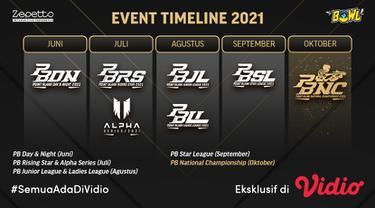 Saksikan Live Streaming PBNC 2021 Eksklusif Melalui Vidio, Bola.com dan Bola.net