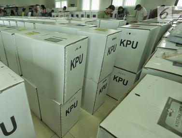 Distribusikan Logistik Pemilu 2019