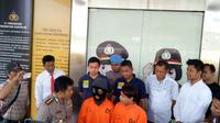 2 Tersangka penculik Sistwi MTs (Liputan6.com/ Pramita Tristiawati)