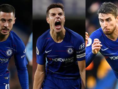 Pemain Chelsea yang Kontribusi Besar Musim Ini