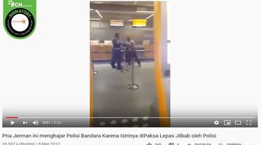 [Cek Fakta] Gambar Tangkapan Layar Video Keributan di Bandara