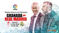 GRANADA VS REAL MADRID (Liputan6.com/Abdillah)