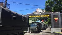 Latihan berat prajurit TNI sebelum jaga perbatasan RI-Timor Leste (Liputan6.com/Fauzan)