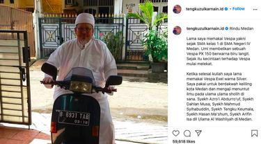 Vespa kenangan Ustaz Tengku Zulkarnain