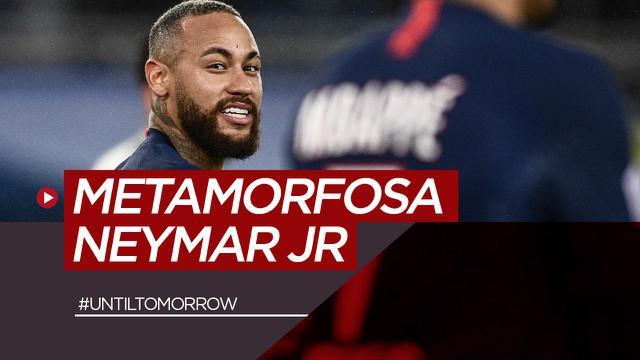 Berita motion grafis metamorfosa Neymar Jr. Bersinar di Barcelona dan sekarang menjadi bintang di PSG.