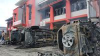 Kerusuhan terjadi di Lapas Langkat Sumut. Belum diketahui penyebabnya.