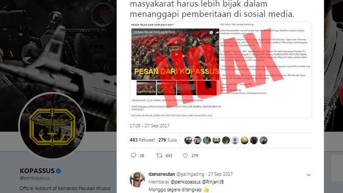 [Cek Fakta] Sumpah Prajurit TNI Akan Basmi Kebangkitan Komunis, Benarkah?