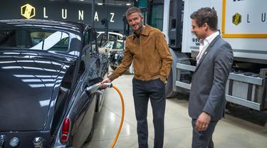 David Beckham mengambil 10 persen saham Lunaz