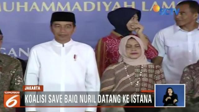 Selain itu, surat pribadi Baiq Nuril pada Jokowi pun diserahkan sebagai bahan pertimbangan.