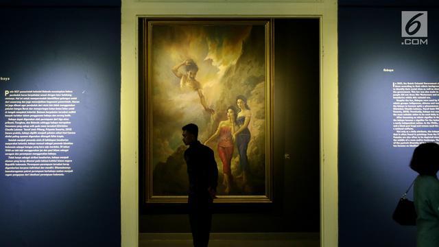 Lukisan Koleksi Istana Kepresidenan Siap Dipamerkan untuk Umum