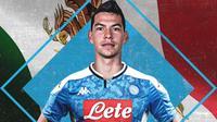Hirving Lozano resmi bergabung dengan Napoli. (dok. Napoli)