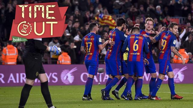 Barcelona pesta gol ketika kalahkan Hercules 7-0, dan berikut 5 tim lainnya yang jadi lumbung gol El Barca